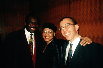 Photo of Paul with James Williams and Dottie Green