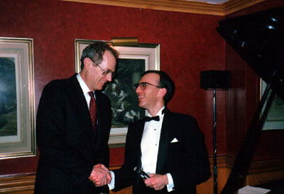 Photo of Paul with Justice Kennedy
